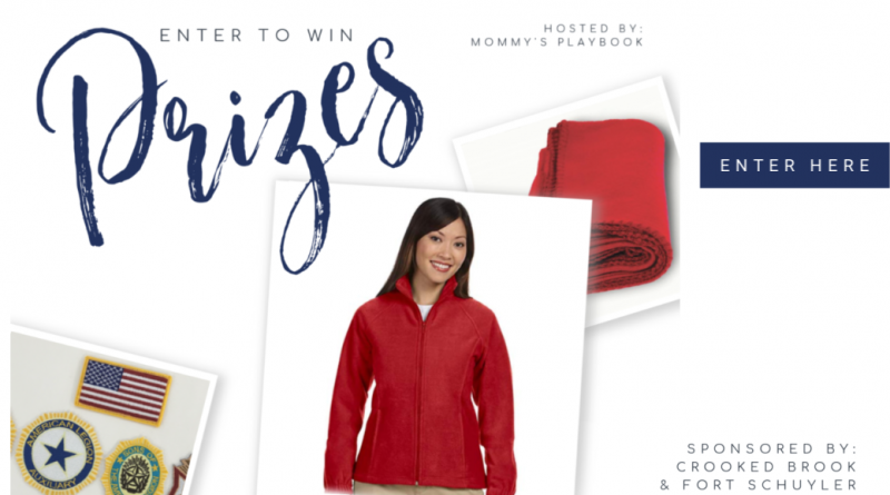 Enter to Win a Fleece Blanket, Fleece Jacket and Embroidered Patches