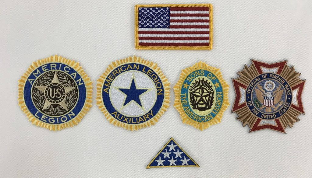 How to Properly Iron/Sew Veterans Patches